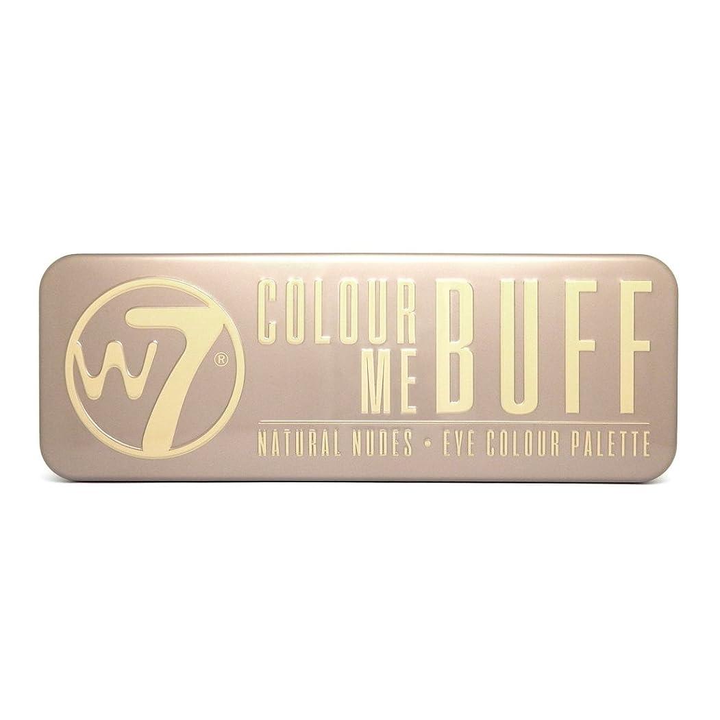 ストレスペインティング作家(3 Pack) W7 Colour Me Buff Natural Nudes Eye Colour Palette (並行輸入品)