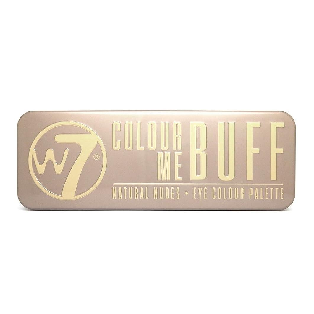 理容師見積り快い(3 Pack) W7 Colour Me Buff Natural Nudes Eye Colour Palette (並行輸入品)