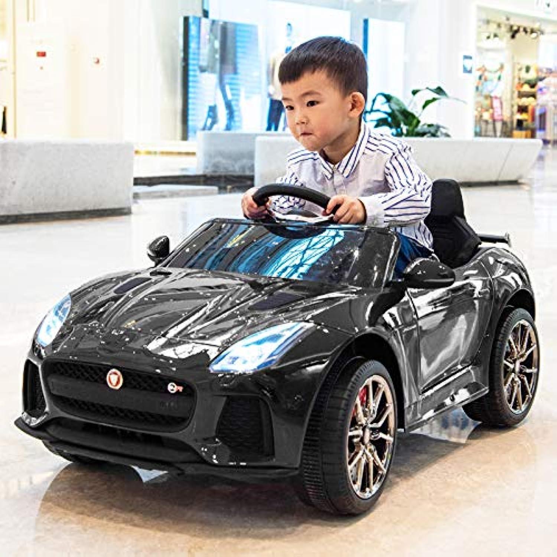 JAGUAR F-type SVR (ジャガー) 電動乗用ラジコンカー 子供が乗れるラジコンカー <ブラック>