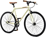 BIKESTAR Bicicleta de Paseo, Single Speed 700C Ruedas 28' | Bici de...
