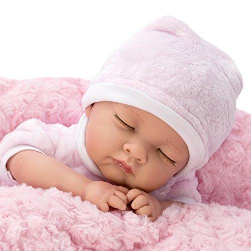 Nines Artesanals d'Onil Poupée Reborn Poupee Bebe Reborn 45 cm Bebe Reborn Fille Poupon Vrai bébé 736