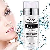 VSADEY Crema Antiarrugas Facial para Día y Noche 2.5% Retinol Crema Hidratante...