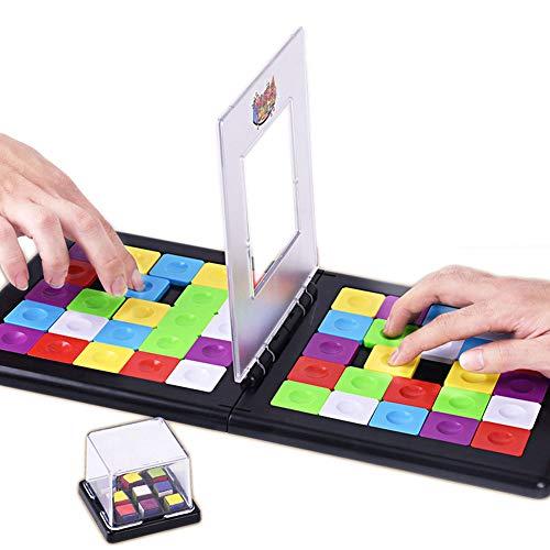 EXUVIATE Magic Block Game, Juego De Bloques Mágicos Juego De Mesa De Desarrollo Intelectual Juego De Rompecabezas