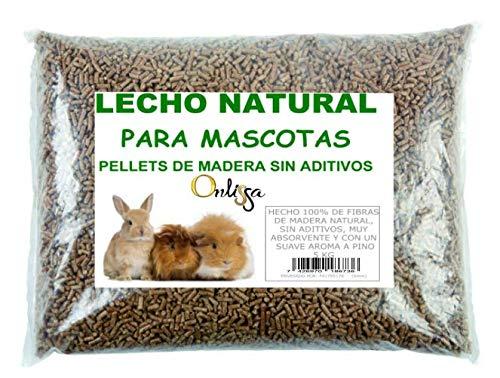 PELLETS para LECHO DE Conejo, COBAYA, Hamster 5 KG
