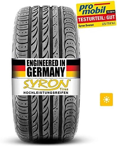 Syron Tires Cross 1 Plus Xl 285 45 19 111 W E C 74db Sommer Suv Auto