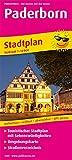Paderborn: Touristischer Stadtplan mit Sehenswürdigkeiten und Straßenverzeichnis. 1 : 14 000 (Stadtplan / SP)