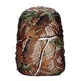 35-60L Funda Impermeable para Mochila 60L de la Carretilla Protector Cubierta Impermeable de Mochila, Protectora Funda de Mochila Anti Polvo para Excursionismo