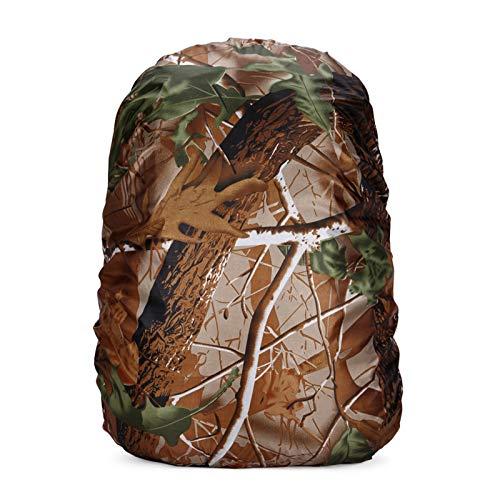 35-60L Regenschutz für Rucksäcke Schulranzen wasserdichte Regenhülle Rucksack Cover Rucksackschutz Ranzen Regenüberzug Sicherheitsüberzug, Sicherheitshülle, Schutzhülle