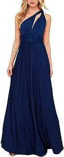 Infinity Night Dress Multi-Way Wrap Camisoles Halter Maxi Floor Long Dress High Elasticity FS41