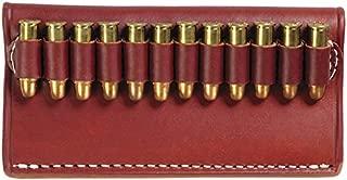 TRIPLE K Cartridge Belt Slide .38 Caliber Cowboy Action Cartridge Belt Slide, Walnut Oil Brown