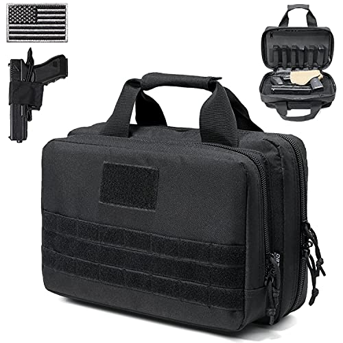 DBTAC Gun Range Bag XS   Tactical 1~2 Pistol Bag Firearm...