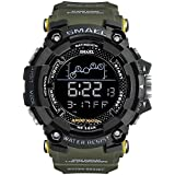Men's Sports Watch, Big Dial Digital Watch...