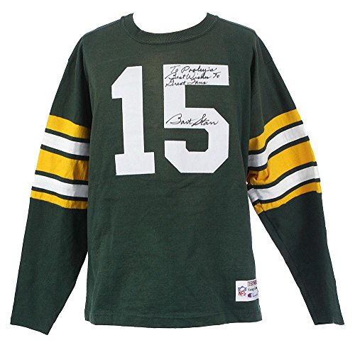 Bart Starr Signed Authentic Champion Green Bay Packers Throwback Jersey JSA COA - Autographed NFL Jerseys