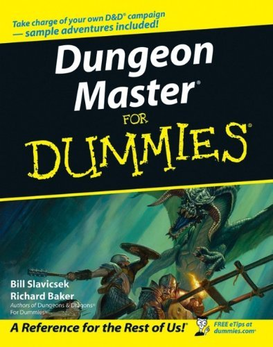 Dungeon Master For Dummies by Bill Slavicsek (2006-04-21)
