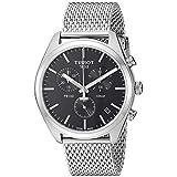 Tissot Mens PR 100 Swiss Quartz Stainless Steel Dress Watch (Model: T1014171105101)