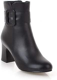 BalaMasa Womens ABS14064 Pu Boots