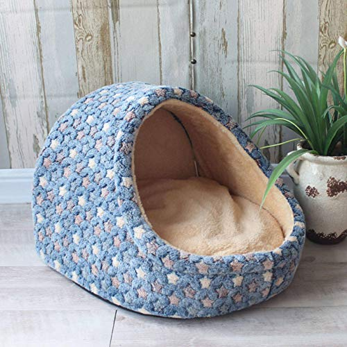 N\C Pet Dog House Nest with Mat Foldable Dog Basket Cat Bed For Small Medium Dogs Travel Puppy Kennels For Cats Chihuahua Cushion