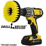 Drillbrush Yellow Drill Pinsel Teppich Bürste mit Medium Stiffness Bristles gelb