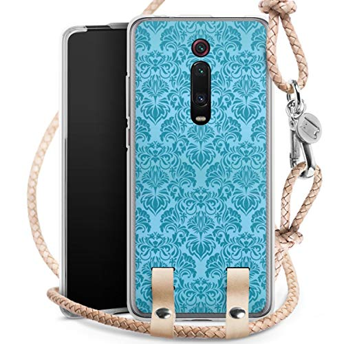 DeinDesign Carry Case kompatibel mit Xiaomi Mi 9T Pro Hülle mit Kordel aus Leder Handykette zum...