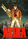 Poster laminado/encapsulado de grandes medidas Akira Gun -Un Clásico - Medidas aproximadas 100 x 70cm Colección de las Mejores Películas Manga Japonesas Ciencia Ficción Animada Cyberpunk