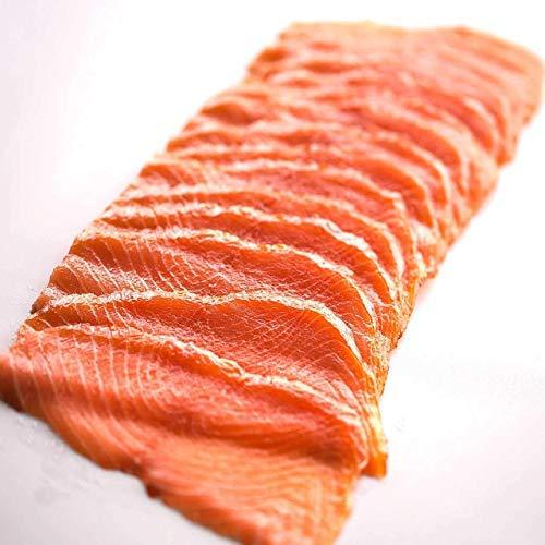 Räucherlachs Premium - Smoked Salmon / geschnitten / handpariert, trockengesalzen / Norwegen / 500g / Kühlversand auf Eis