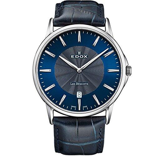 Edox Les Bemonts Ultra Slim Reloj de Hombre Cuarzo 40mm 56001 3 BUIN