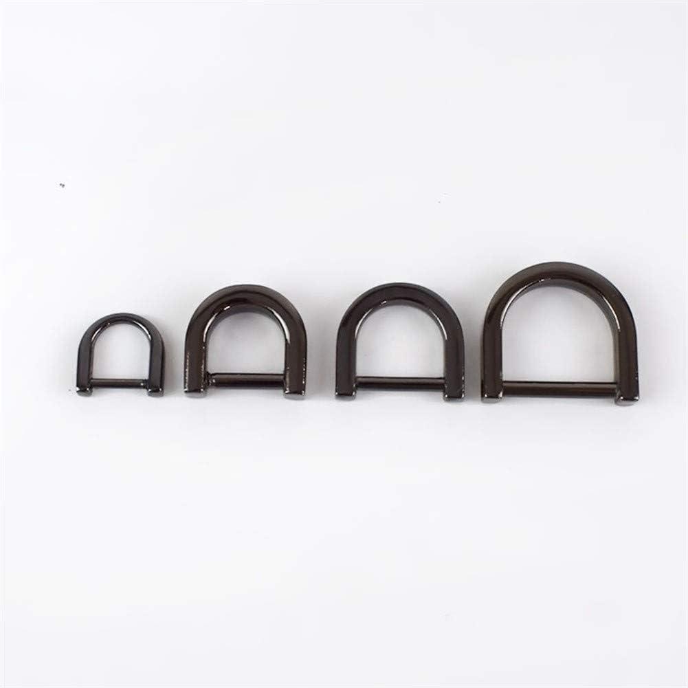 Roller design 5pcs 1-2cm D Ring New item Finally resale start Buc Bag Metal Belt Wallet Buckle