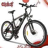 Speedrid Mountain Bike Pieghevole per Bici elettrica, Pneumatici 26/20 Ebike Bici elettrica per Bici con Motore brushless da 250 W e Batteria al Litio 36 V 8 Ah