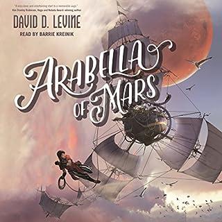 Arabella of Mars audiobook cover art
