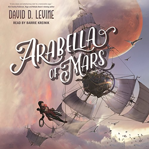 Arabella of Mars audiobook cover art