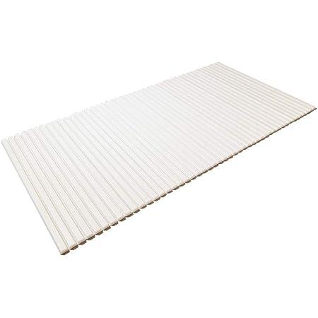 東プレ シャッター式風呂ふた ホワイト 80×159cm W16