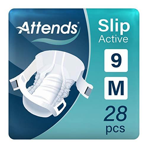 Attends Slip Active 9 - Medium - 28 Windeln