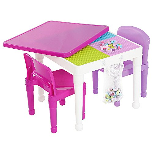 Humble Crew Kids 2-in-1 Activity Table Set