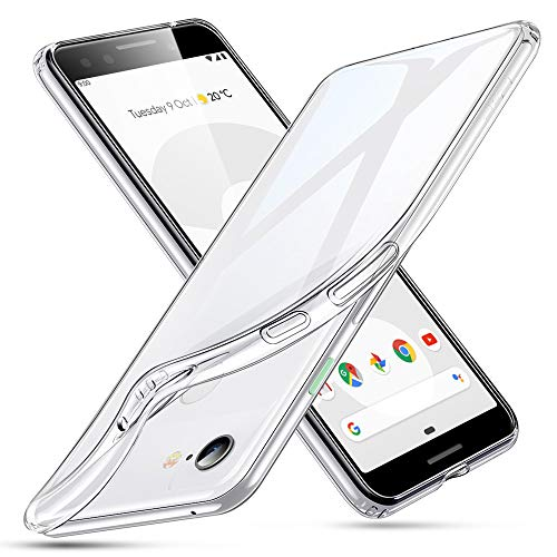 ESR Essential Zero Compatible for The Pixel 3 Case, Slim Clear Soft TPU Cover with Cushioned Corners for The Google Pixel 3 (2018 Release), Clear