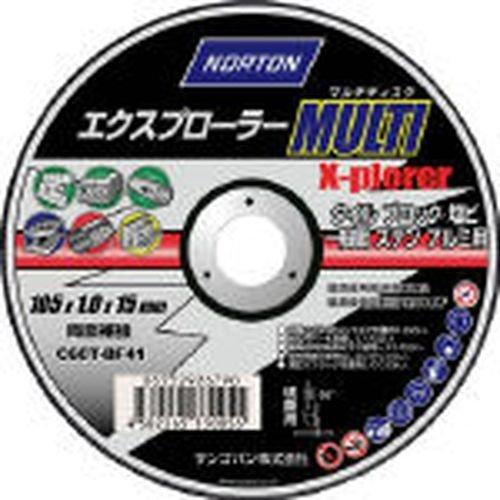 NORTON エクスプローラー MULTI マルチ 多用途切断砥石 180mm