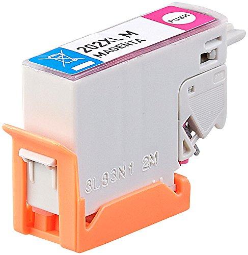 iColor Druckerpatronen Alternativen, Epson: Tinten-Patrone T02H3 / 202XL für Epson-Drucker, Magenta (rot) (kompatible Tintenpatronen für Tintenstrahldrucker, Epson)