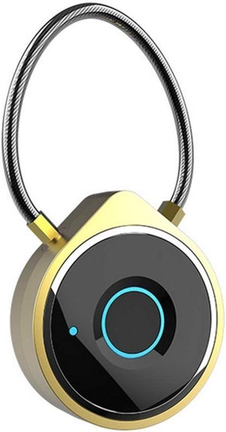 Baltimore Mall SPNEC Smart Fingerprint Padlock Lock Travel Gym Lockers Su Beauty products for