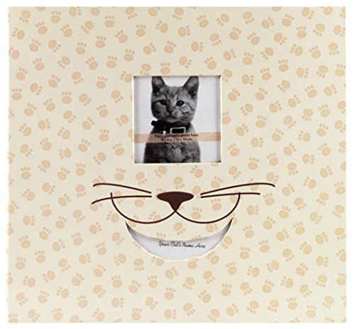 MCS MBI 13.5x12.5 Inch Cat Theme Scrapbook Album with 12x12 Inch Pages with Photo Opening (865981)