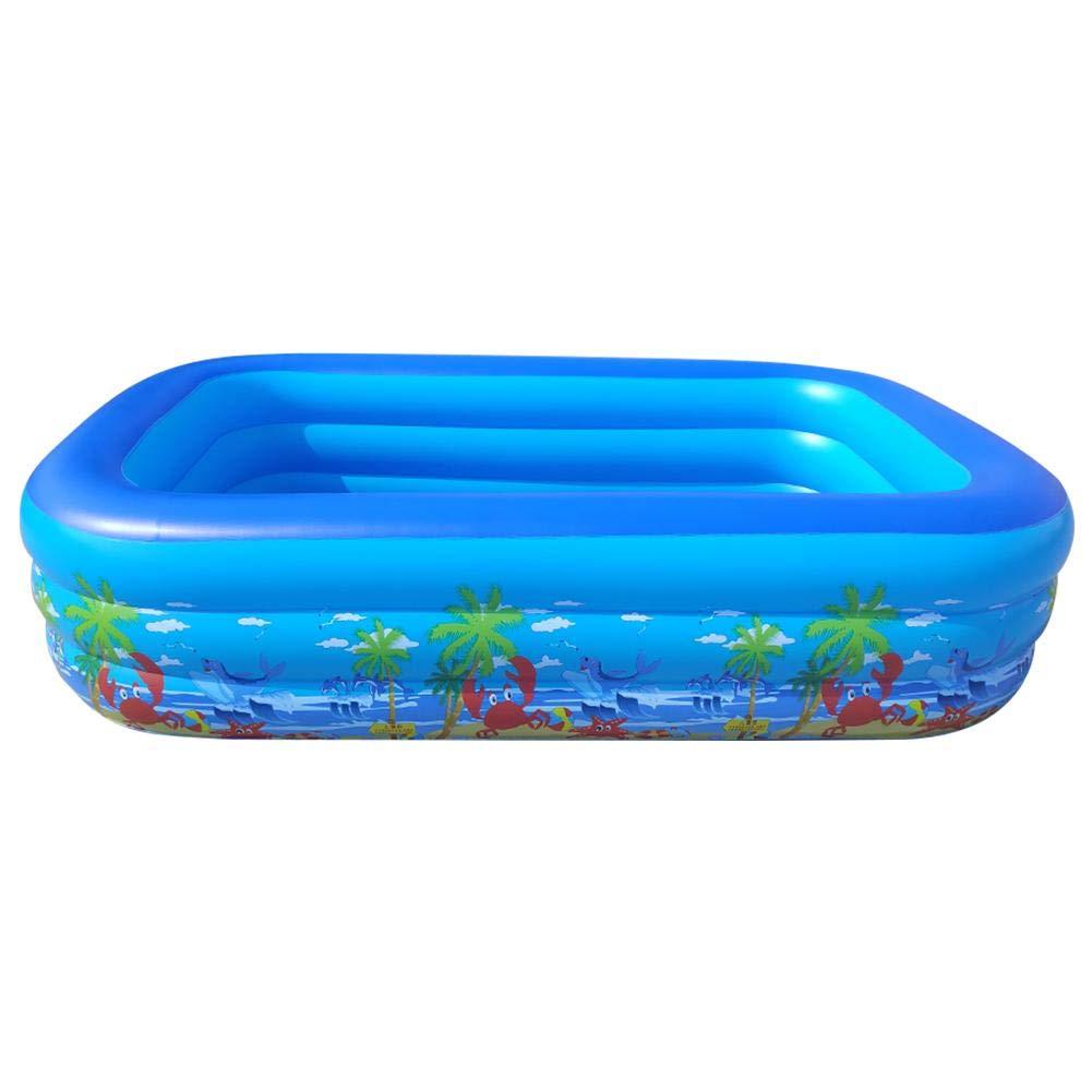 Yester - Piscina hinchable hinchable rectangular para piscina ...