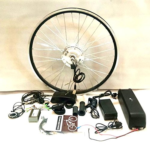 Pedalease 26 Inch 36V 250 W Electric Bicycle Conversion Kit with Lithium Battery