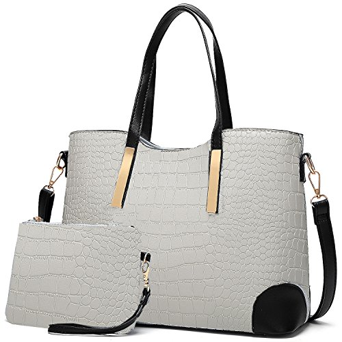 YNIQUE Satchel Purses and Handbags for Women Shoulder Tote Bags Wallets Size: M