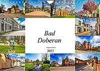Bad Doberan Impressionen (Wandkalender 2022 DIN A4 quer): Die Stadt Bad Doberan in zwoelf wunderschoenen Bildern festgehalten (Monatskalender, 14 Seiten )