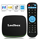 TV Box Android - Q1 Smart TV Box con Mando Inteligente, 1GB RAM & 8GB ROM, 4K*2K UHD H.265, HDMI, USB*2, WiFi Media Player, Android Set-Top Box