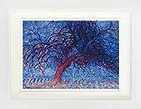 1art1 Piet Mondrian - Der Rote Baum, 1908-10 Gerahmtes Bild