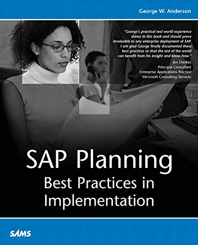 SAP Planning:Best Practices in Implementation