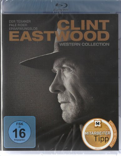 Clint Eastwood Western Collection (Der Texaner, Pale Rider, Erbarmungslos) [Blu-ray]