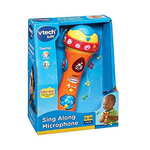 VTech Baby Sing Along Microphone Couleurs assorties