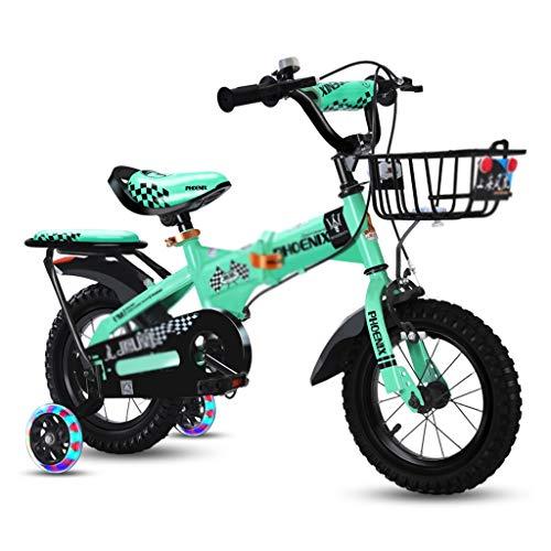 Kinderfietsen jongens meisjes fiets outdoor mountainbike sport fiets vouwfiets vouwfiets, koolstofstalen frame, opvouwbaar design