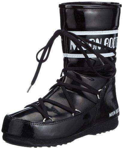Moon Boot W.E. P.Jump.Mid, Damen Stiefel & Stiefeletten, Schwarz - Schwarz (Nero) - Größe: 35