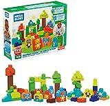 MEGA Bloks - Amigos del Bosque conjunto de bloques de construcción ecológicos para bebés de +1 año (Mattel GMB63)